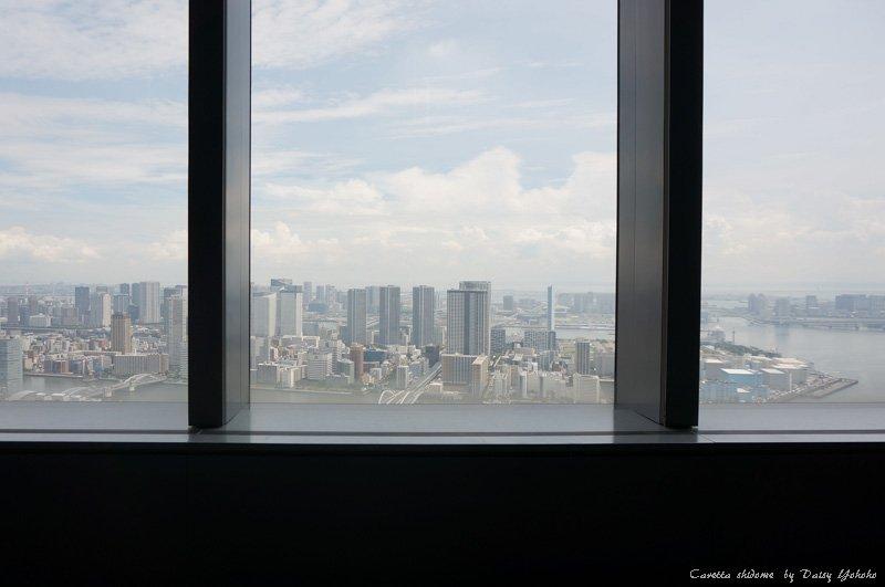 caretta-shidome,東京景點,汐留,烏龜大樓,烏龜汐留,汐留夜景,汐留觀景台,東京夜景