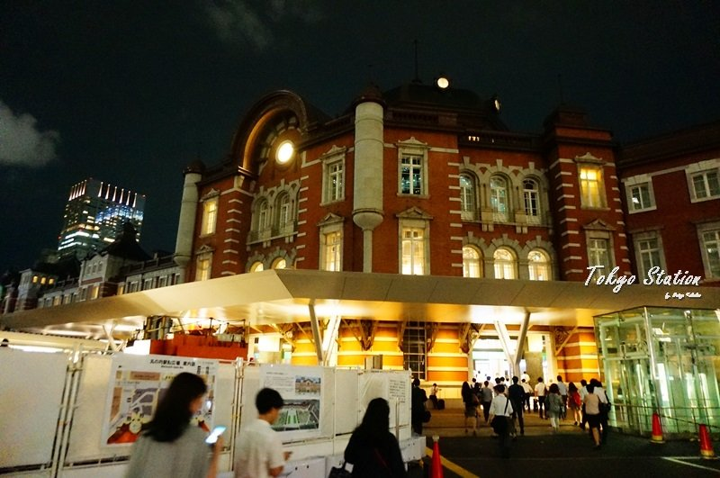 日本旅遊, 自本自助, 旅行狂, 黛西優齁齁, tokyo-station,東京車站,東京自由行