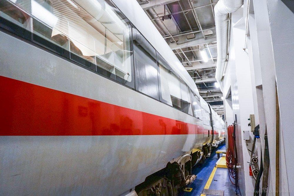 坐火車去旅行,ICE36,ICE35,德鐵,丹麥,漢堡,哥本哈根,火車進船肚,火車開進船,火車海關,海關檢查,跨國列車