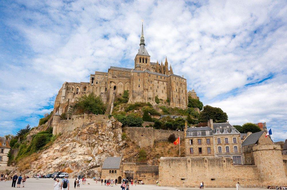 法國景點, 聖米歇爾山, SaintMichel, Mont-Saint-Michel, 西法景點, 世界文化遺產, 黛西優齁, 黛西環歐, 環歐之旅, 歐洲自助, 法國自助