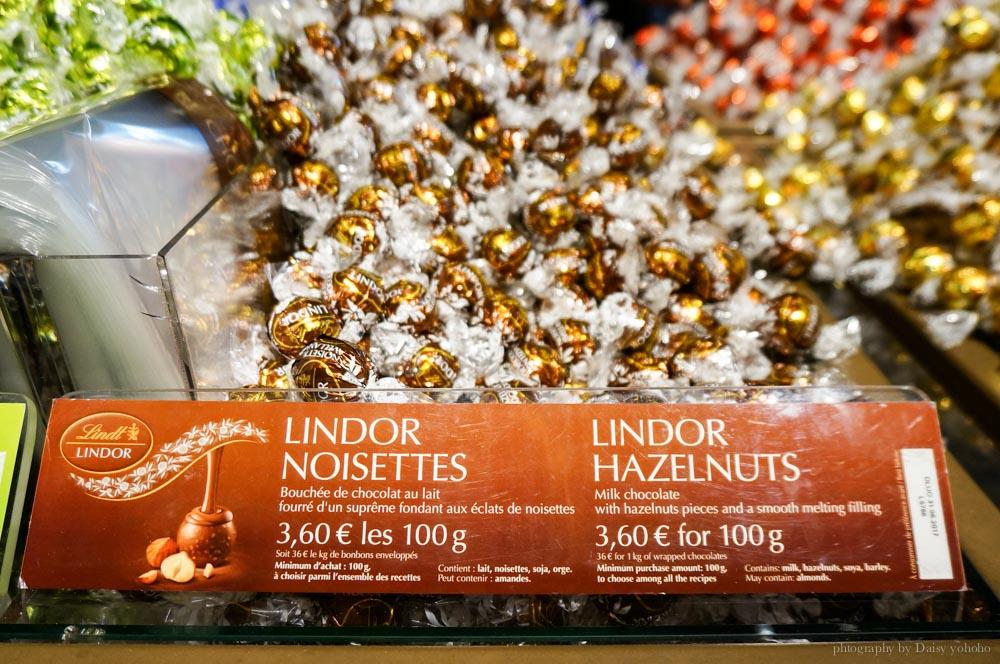 Lindt,巴黎甜點,巴黎美食,法國甜點,瑞士蓮,瑞士巧克力,巧克力,歐洲之旅,巴黎自助,法國自助