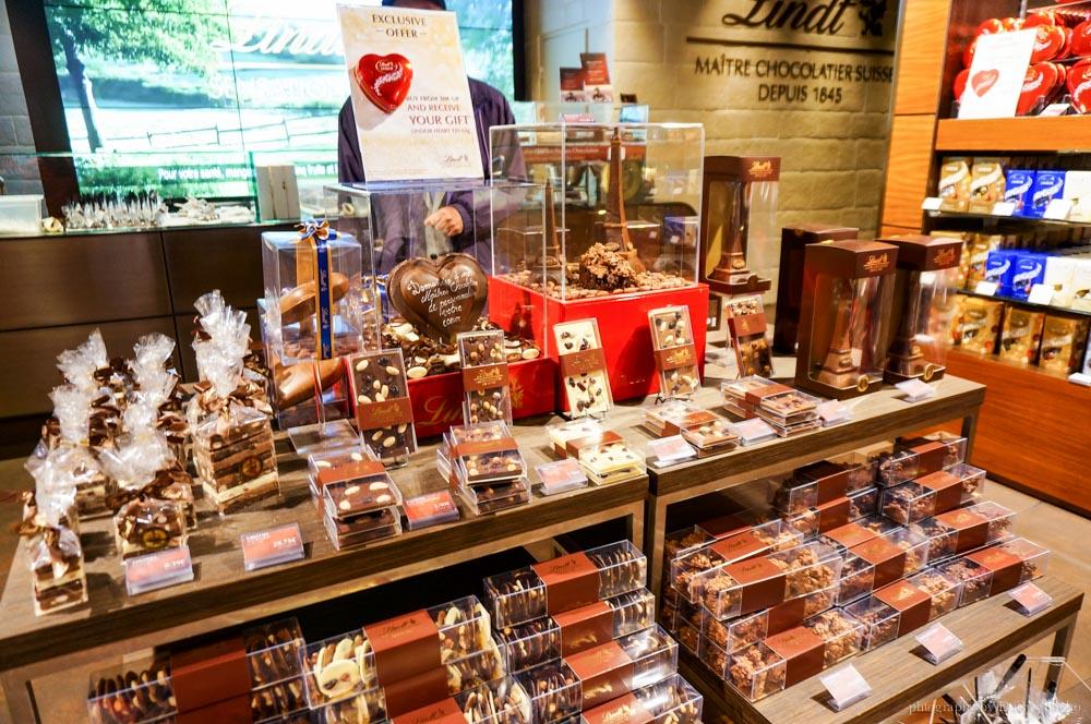 Lindt, 巴黎甜點, 巴黎美食, 法國甜點,瑞士巧克力, 巧克力, 歐洲之旅, 巴黎自助, 法國自助