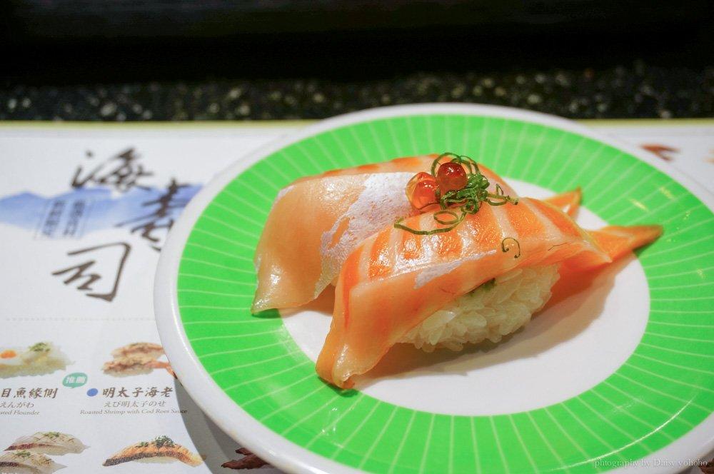 hi-sushi,海壽司,統一時代,台北美食,市政府站,迴轉壽司