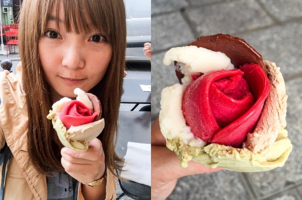 amorino, 花朵冰淇淋, 花瓣冰淇淋, 巴黎美食, 巴黎冰淇淋, 巴黎甜點, 冰淇淋, 小天使冰淇淋, 巴黎