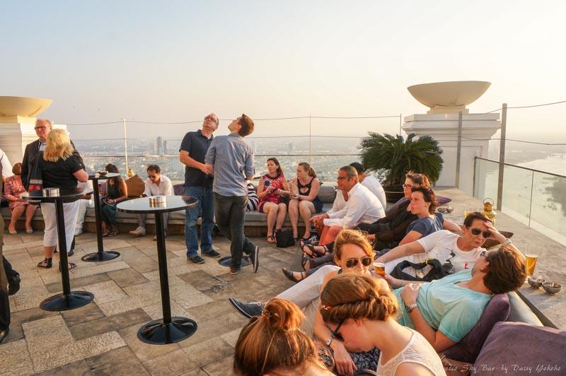 曼谷, 夜景, 曼谷夜景, Sirocco-Sky-Bar, 空中酒吧, 泰國, 泰國自助, 國外旅遊, 泰國旅遊, 蓮花酒店