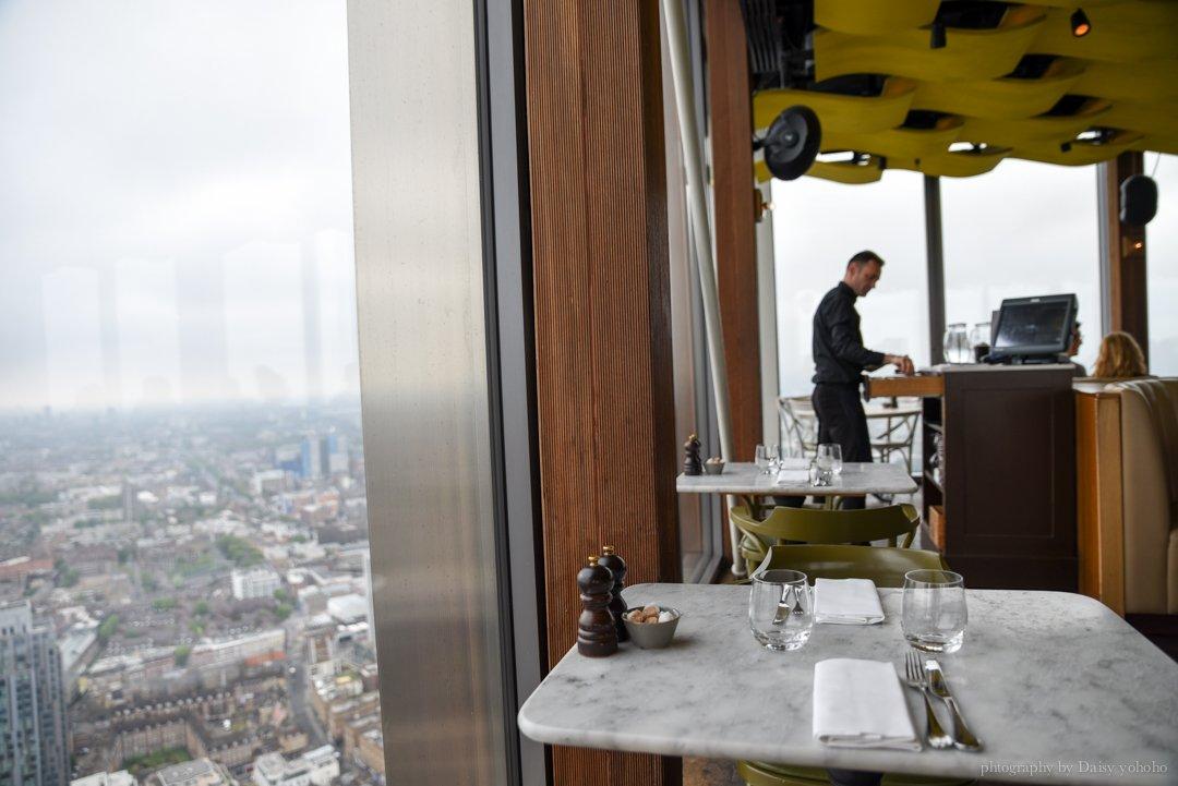 Duck & Waffle, 鴨肉鬆餅, 倫敦美食推薦, 倫敦觀景台