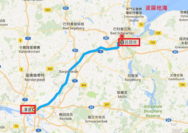 lubeck, 呂北克, 德國小鎮, 德國自助旅行, 歐洲旅遊, 歐洲自助, 德國自由行