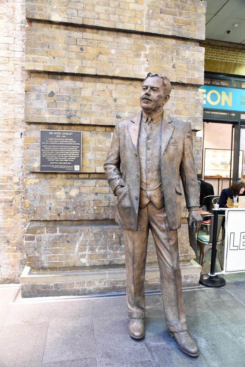 國王十字車站, 倫敦景點, 九又四分之三月台, 英國旅遊, 哈利波特, 倫敦自助旅行, KING'S CROSS