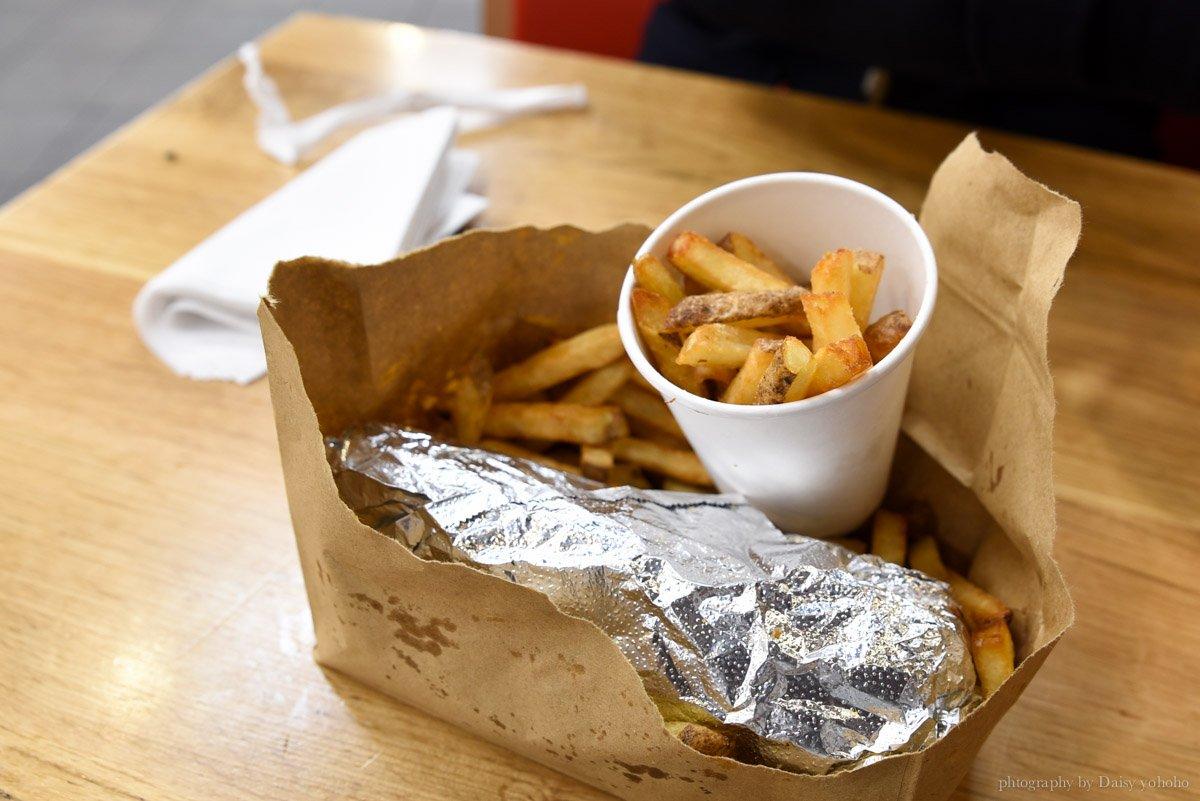 kingcross, 倫敦美食, 英國連鎖速食餐廳, 倫敦自由行, 英國自助旅行, 歐洲旅遊, 歐洲自助旅行, five guys, 黛西優齁齁