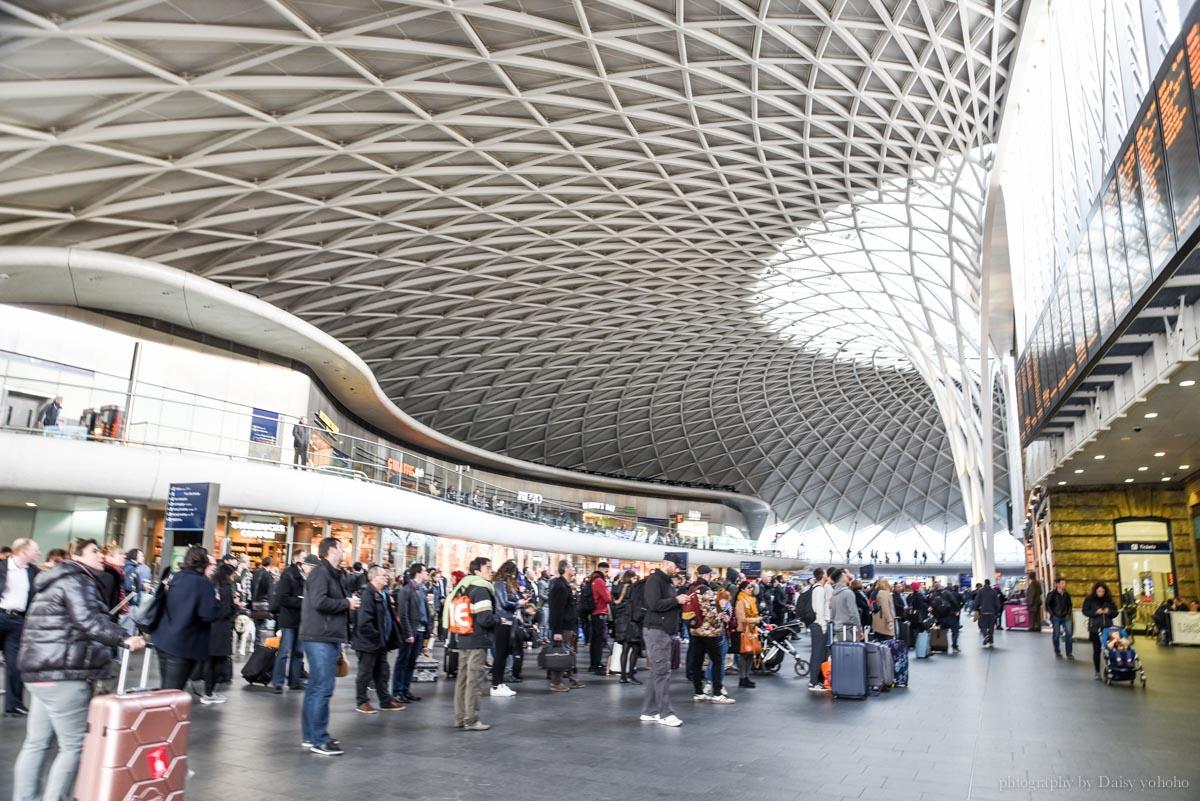 倫敦景點, 九又四分之三月台, 英國旅遊, 哈利波特, 倫敦自助旅行, 王十字車站, KING'S CROSS