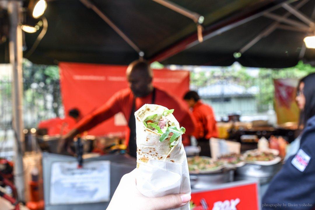 倫敦美食推薦, 倫敦百年市集, 波羅市場美食, borough market, 倫敦橋站, 英國自助旅行