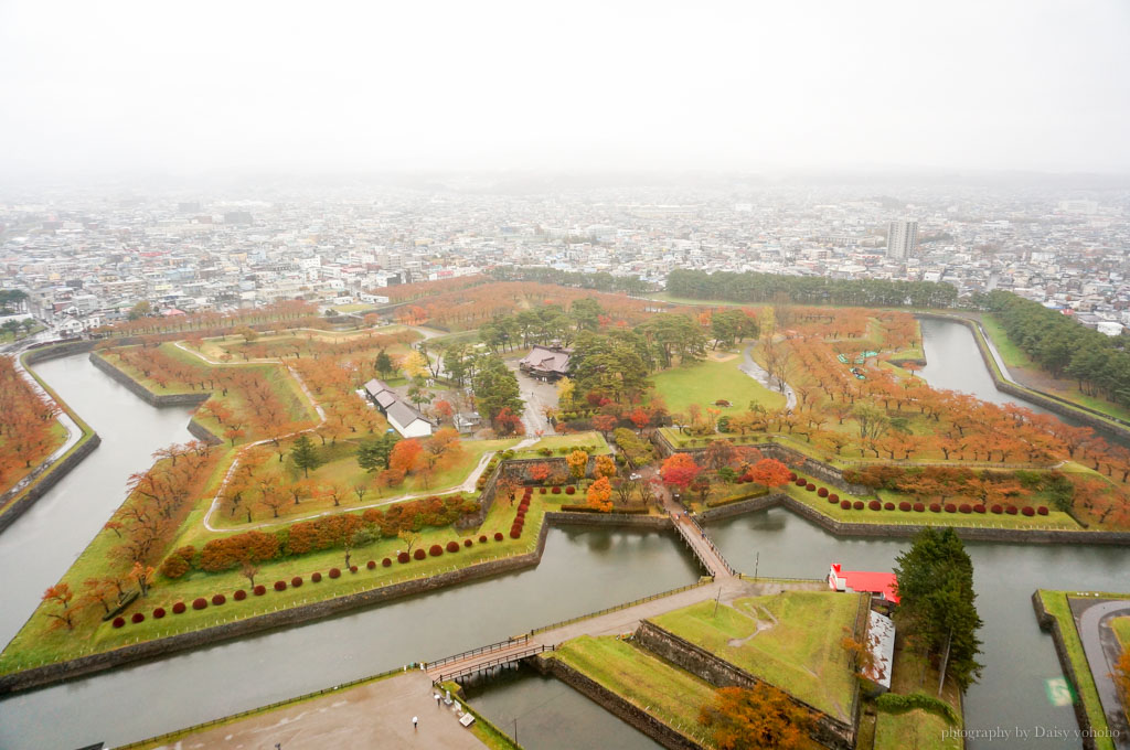 五稜郭, 函館景點, 北海道, 五稜郭冰淇淋, 星型碉堡, Goryokaku-Tower