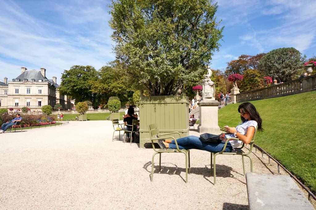 盧森堡公園, 巴黎景點, 盧森堡花園, 法國巴黎, 歐洲旅遊, 法國旅遊, 巴黎野餐, 巴黎婚紗, Jardin-du-Luxembourg