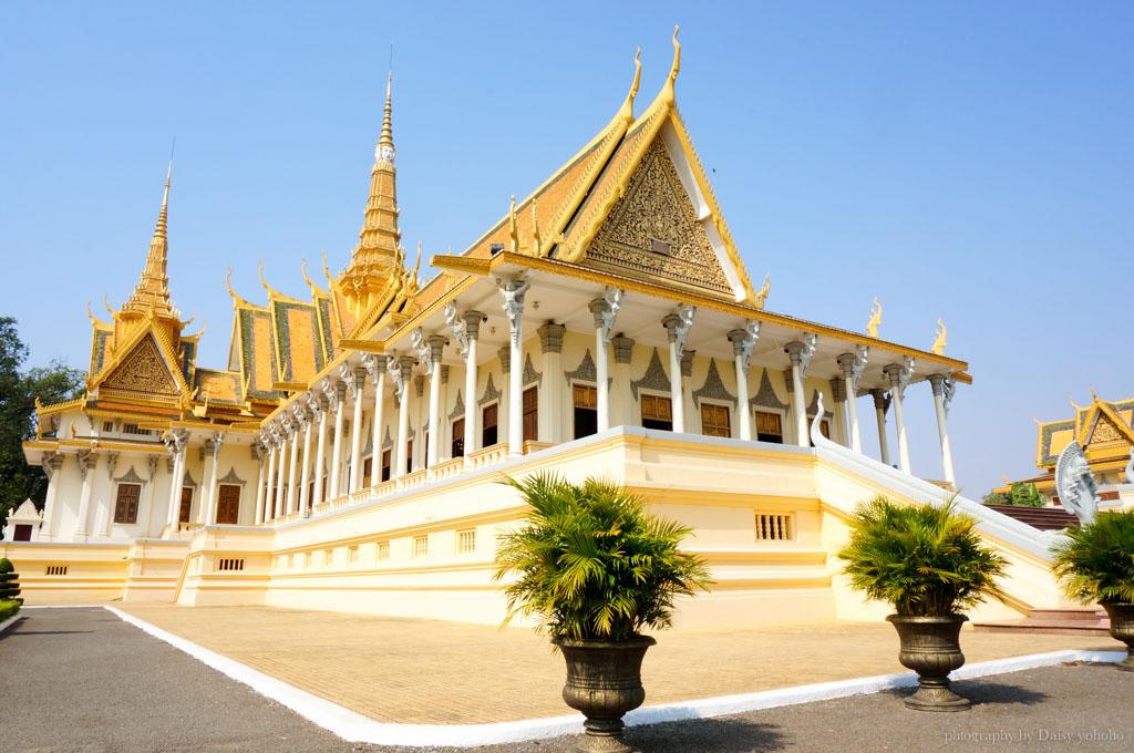 cambodia-Royal-Palace, 柬埔寨, 金邊王宮, 金邊景點, 柬埔寨皇宮, 柬埔寨自助旅行