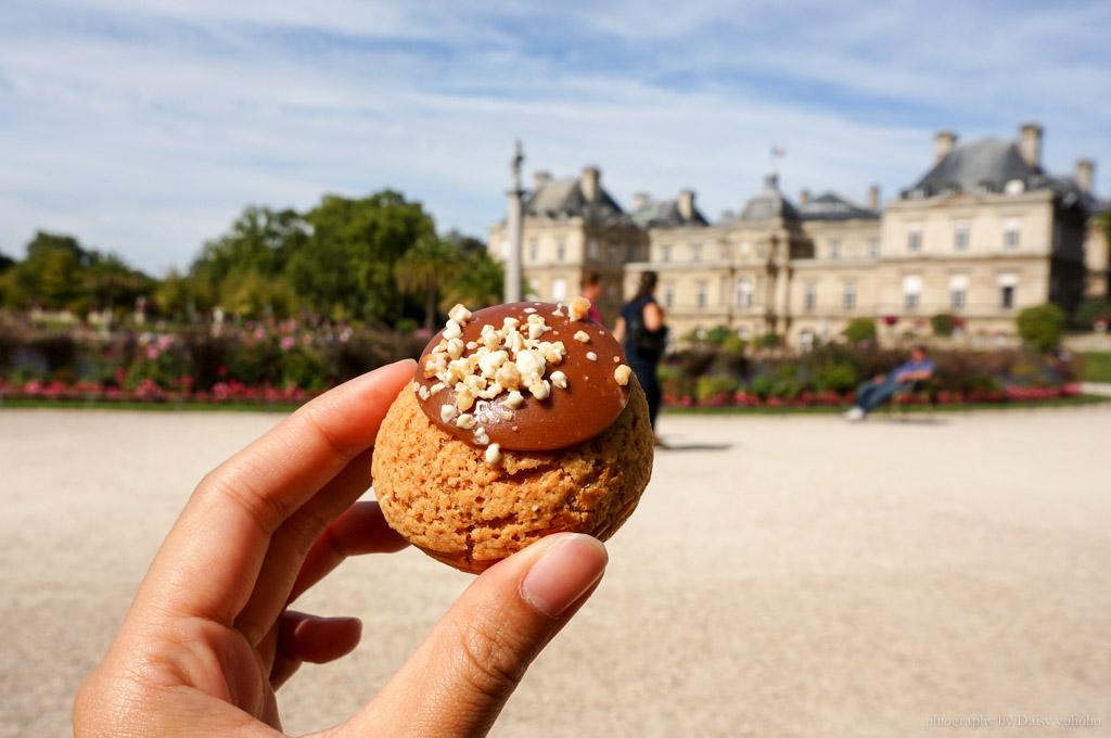 popelini, 巴黎甜點, 巴黎美食, 法式甜點, 法式泡芙, 法國美食, 歐洲旅遊, 小泡芙, 浮日廣場, 聖心堂