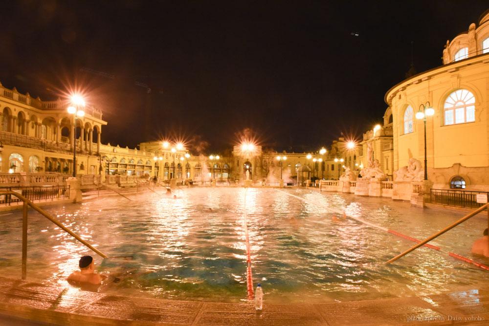 布達佩斯溫泉, 塞切尼溫泉浴場, 布達佩斯泡湯, 布達佩斯自由行, 匈牙利自助, Széchenyi-gyógyfürdő