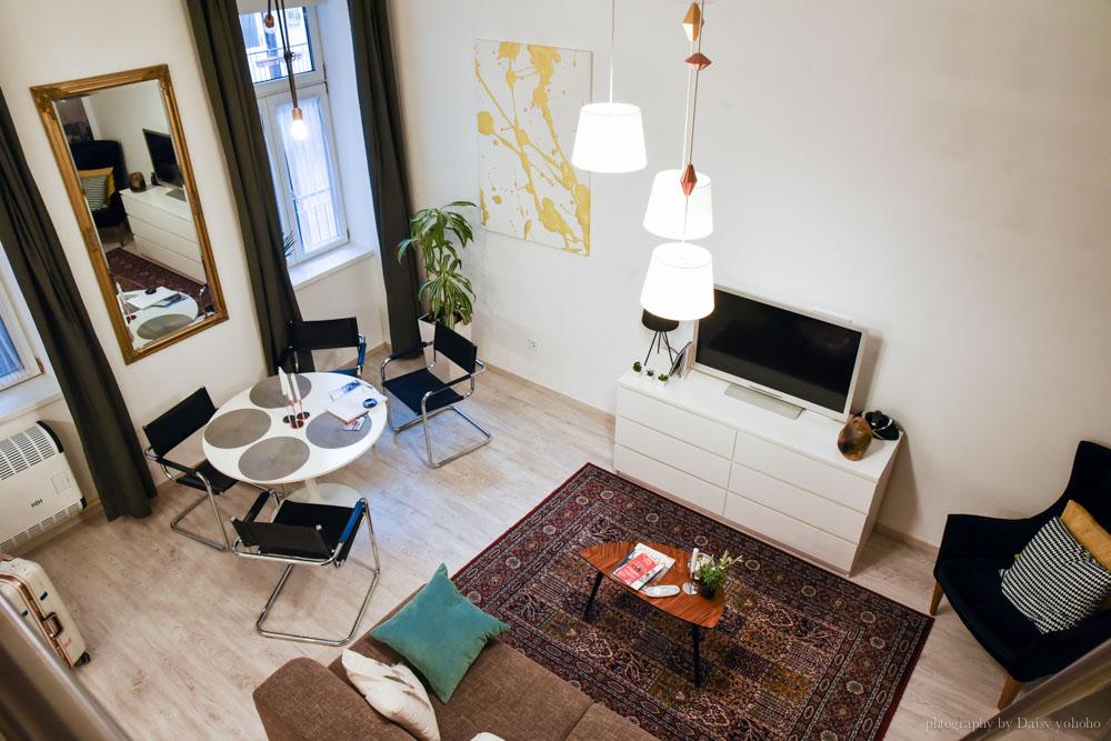 布達佩斯住宿, 匈牙利自助, budapest, airbnb, 平價住宿, 布達佩斯住宿, 樓中樓