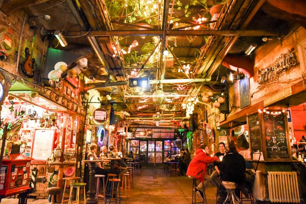 布達佩斯, 廢墟酒吧, 匈牙利, 布達佩斯景點, 布達佩斯晚上, Szimpla Kert, 布達佩斯自由行
