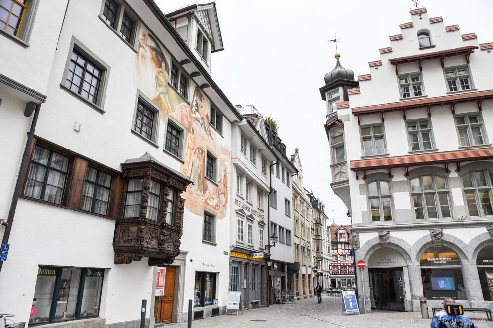 St Gallen, 聖加侖, 瑞士自助, 瑞士自由行, 聖加侖圖書館, 世界最美圖書館, 瑞士火車旅行