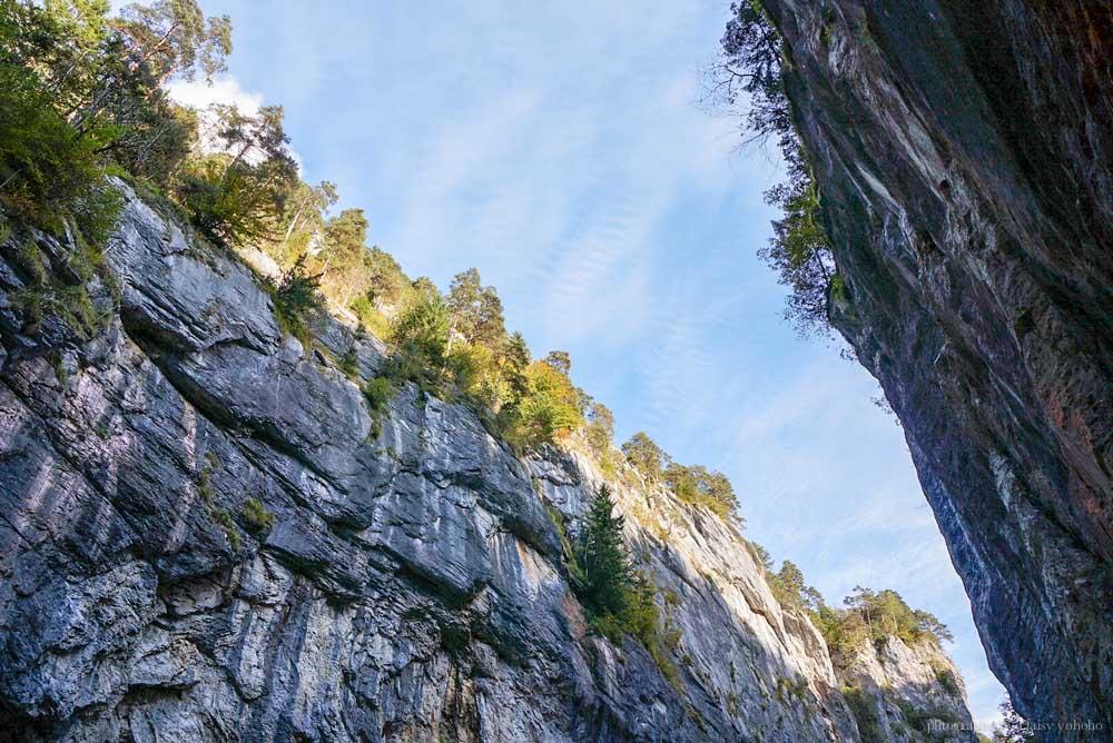 阿勒河峽谷,Aare Gorge, 瑞士自由行, 瑞士景點, 瑞士自助, 茵特拉肯, 邁林根, 阿勒河