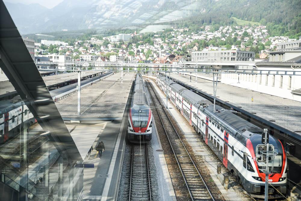 chur, 庫爾, 瑞士, 瑞士德語區, 瑞士小鎮, 瑞士自由行, 瑞士火車