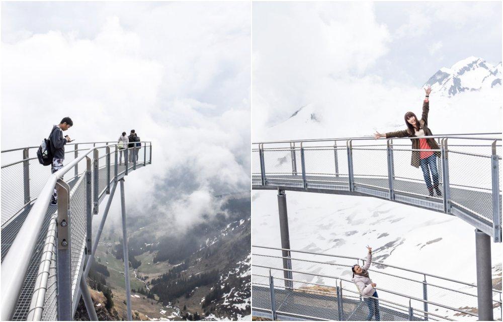 first cliff walk, First, 菲斯特, 少女峰區, 瑞士纜車, 卡丁車, 高空飛索, 滑板自行車, Grindelwald, 格林德瓦, 瑞士自助