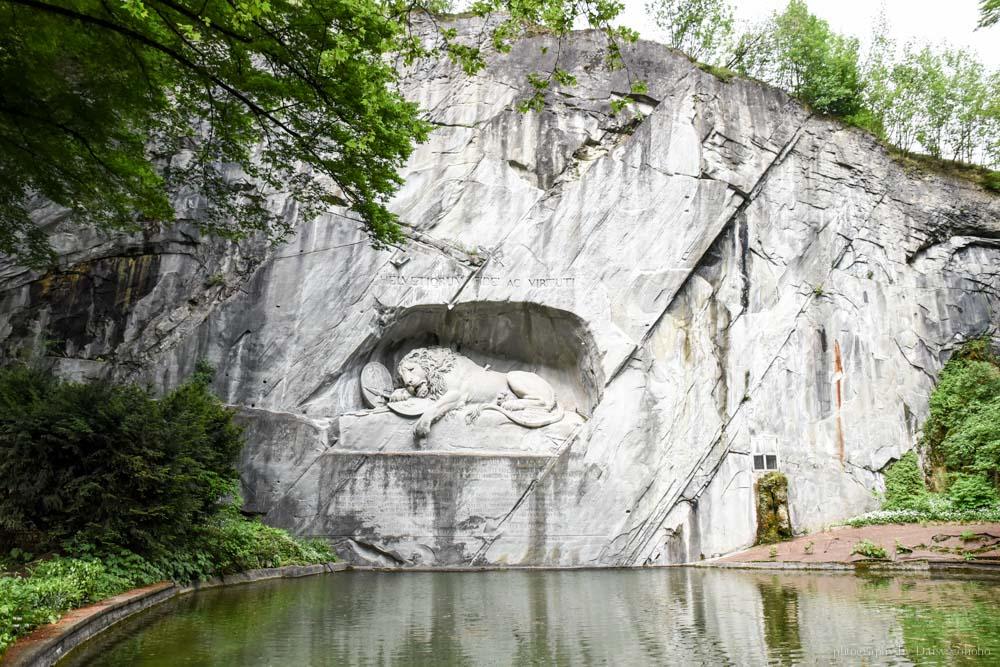琉森, 瑞士, luzern, 盧森, 琉森一日遊, 盧森景點, 琉森景點, 盧森一日遊, 垂死獅子像
