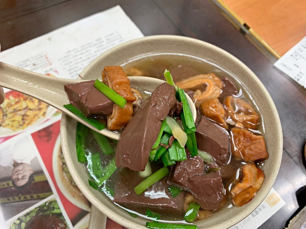 昌吉街豬血湯, 昌吉街美食, 大同區美食, 台北美食, 台美小吃, 台北豬血湯, 紅昌吉