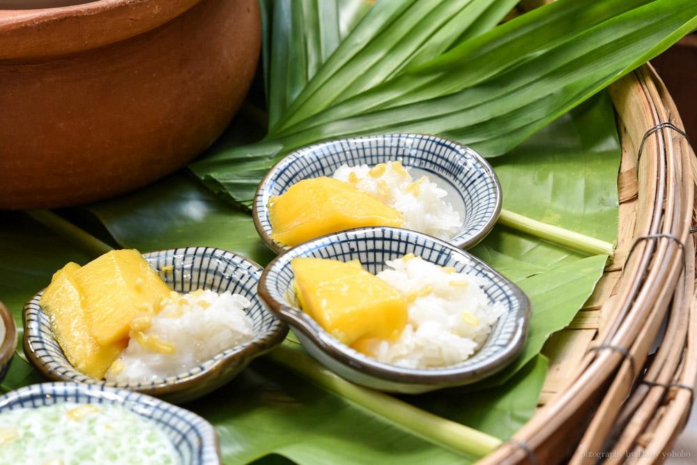 泰國水果, 泰國小吃, 泰國美食, 芒果糯米, 泰國甜點