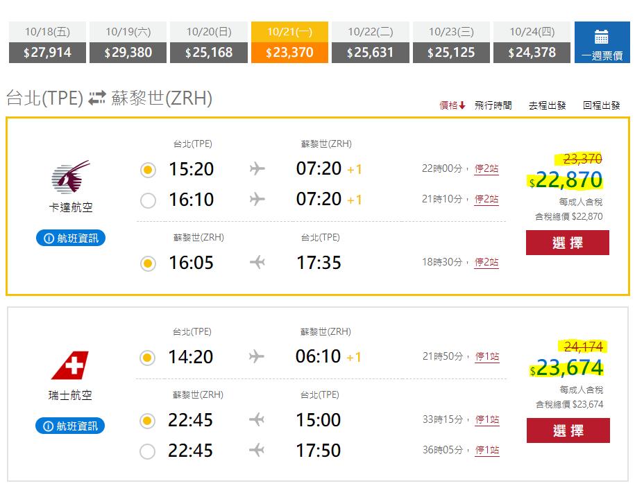 飛達旅遊, 機票網站, 機票比價, 歐洲機票