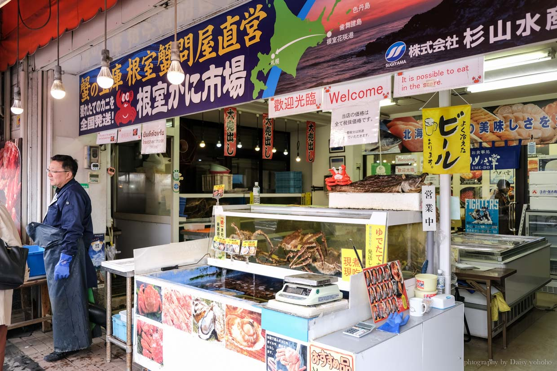 場外市場, 中央卸賣市場, 札幌朝市, 札幌美食, 北海道帝王蟹, 鱈場蟹, 生魚片丼飯, 海鮮丼飯