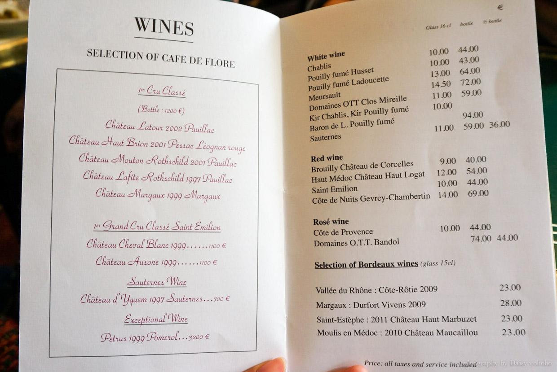 花神咖啡, Cafe de Flore, 左岸咖啡館, 巴黎咖啡館, 巴黎美食, 巴黎下午茶