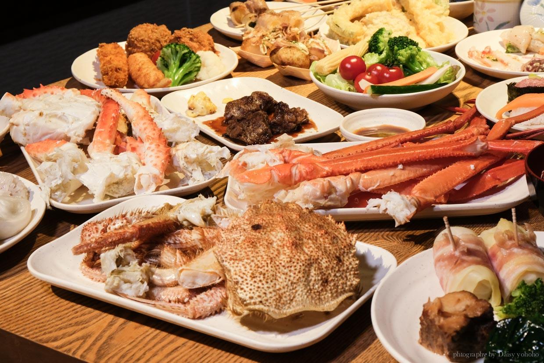 櫻料理, the sakura buffet, 札幌美食, 札幌吃到飽, 北海道吃到飽, 鱈場蟹吃到飽, 帝王蟹吃到飽