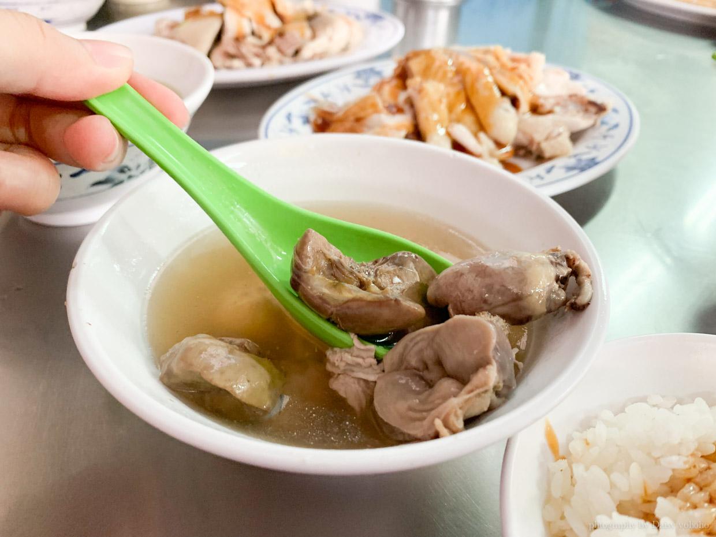 西門町美食, 西門町小吃, 白斬雞, 下水湯, 雞由拌飯, 台北老店