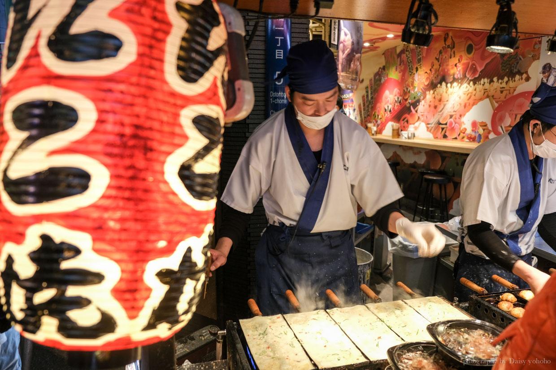 章魚八章魚燒, 道頓崛美食, 大阪美食, 大阪章魚燒推薦
