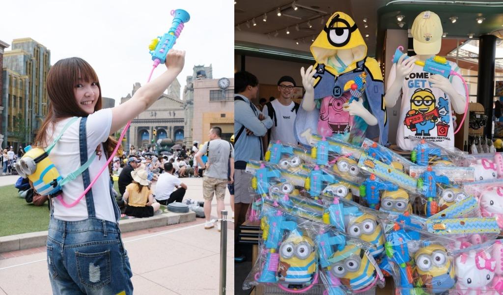 universal studios japan, kkday, 日本環球影城, Extra Cool Summer, 小小兵夏日派對, 渡邊直美, 環球影城夏季, cool japan
