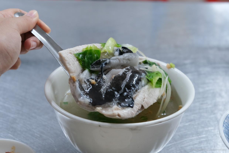 台南美食, 台南肉燥飯, 國華街美食, 台南小吃, 虱目魚肚湯