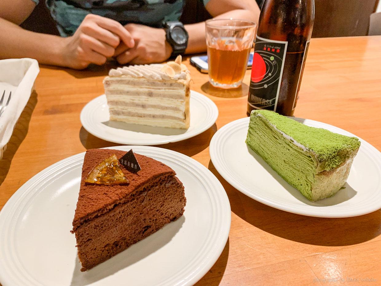 千層蛋糕, elsewhere cafe, 中正紀念堂美食, 中正紀念堂下午茶, 繪本咖啡館, 甜點, 芋頭千層, 抹茶千層