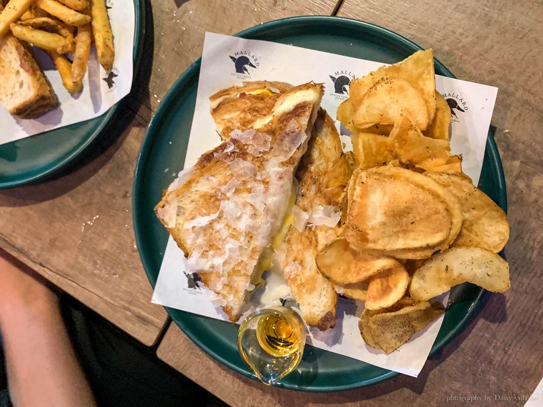 野鴨小餐館, 市民大道, 市民大道美食, 火烤起司三明治, 松露薯條, Mallard Grilled Cheese Eatery