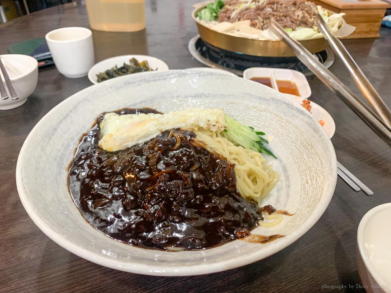 韓國料理民俗村, 行天宮站美食, 銅盤烤肉, 石鍋拌飯, 行天宮韓式料理, 海鮮煎餅, 炸醬麵
