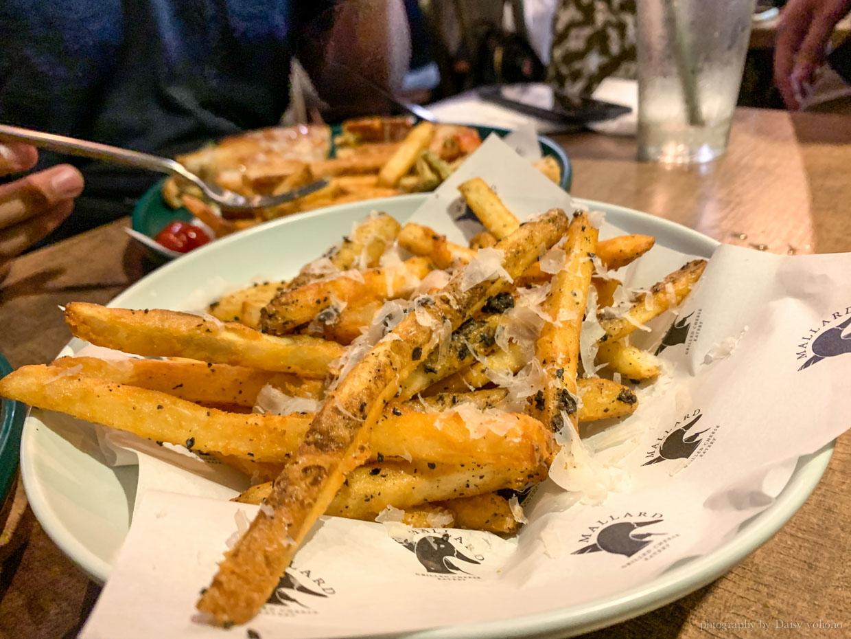 市民大道, 市民大道美食, 火烤起司三明治, 松露薯條, Mallard Grilled Cheese Eatery