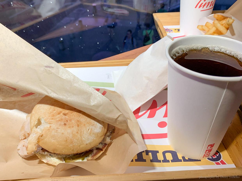 丹麥熱狗堡, 捷運西門站, 丹麥速食店, 起司三重奏漢堡, 二分之一強, 法是熱狗堡, 維京人香腸, 丹麥傳統脆皮豬肉堡