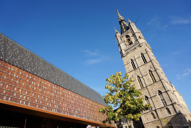 城市大廳, 世界文化遺產, 根特自助旅行, 根特景點, 比利時旅遊, 比利時自助, 比利時交通