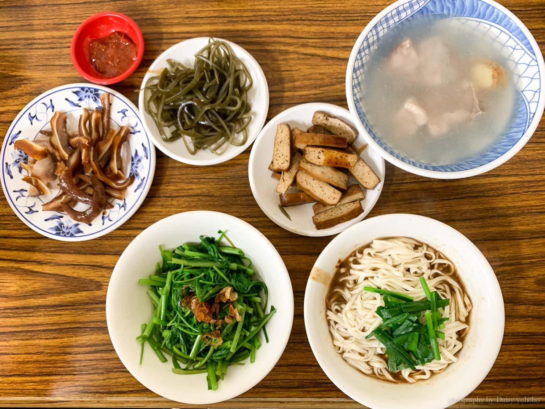 老麵店, 大同區小吃, 台北小吃, 迪化街小吃, 迪化街美食, 四醬麵, 滷菜, 排骨湯
