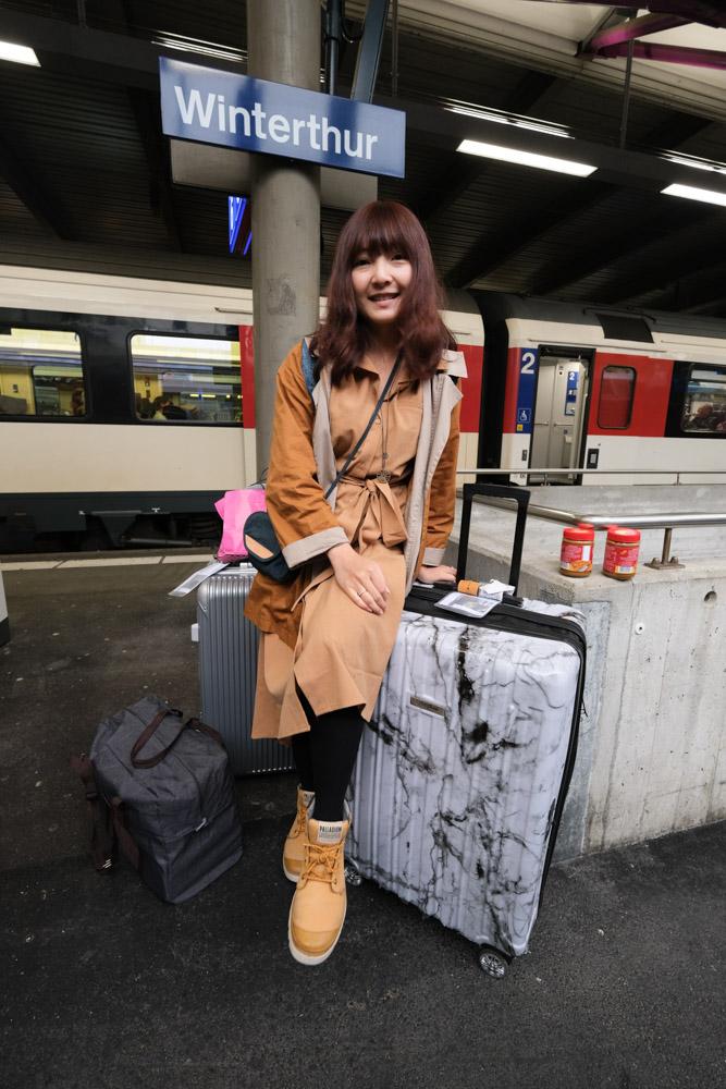 Flexflow paris 行李箱, 秤重行李箱, 大理石紋行李箱, 29吋行李箱, 白大理石行李, 里爾系列, 行李秤重