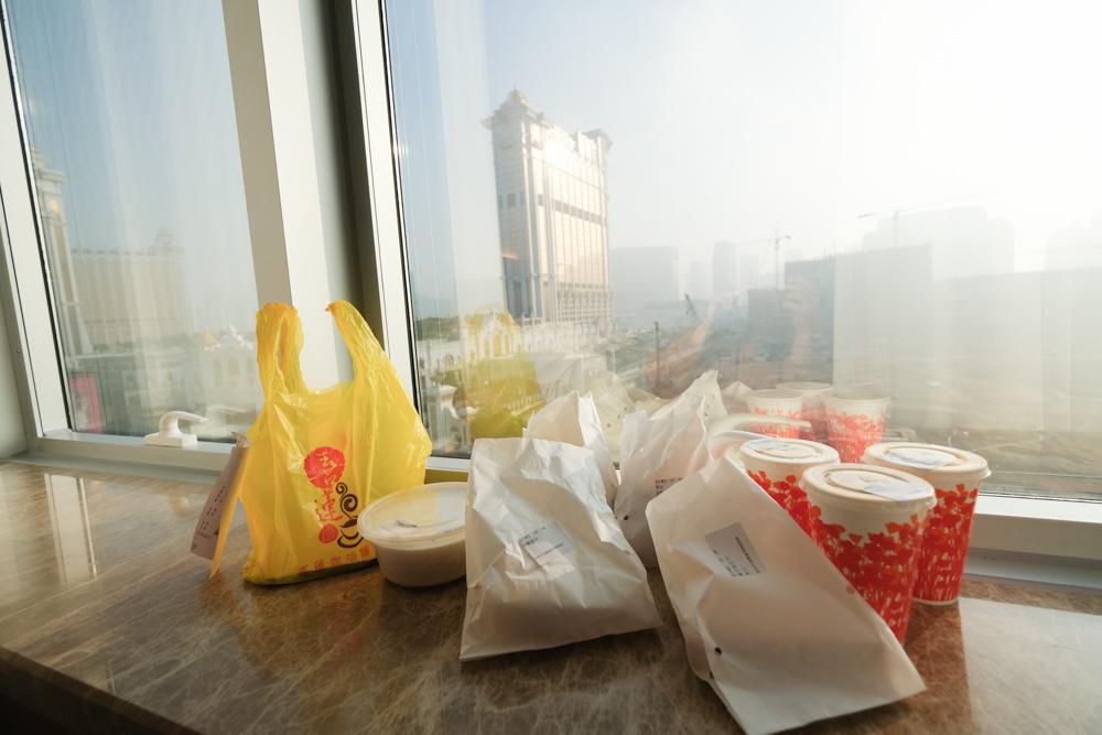 喜蓮咖啡, 喜蓮咖啡外賣店, 澳門外送, 氹仔外送, 氹仔早餐, 鮮油菠蘿堡, 飯店外送
