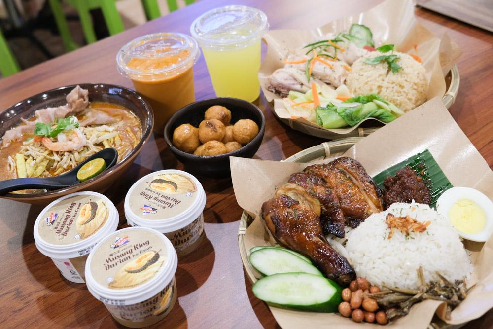 艾叻沙, 海南雞飯, isarawaklaksa, 信義威秀, 信義威秀美食, 台北101站, 市政府站, 新光三越, 榴槤冰淇淋
