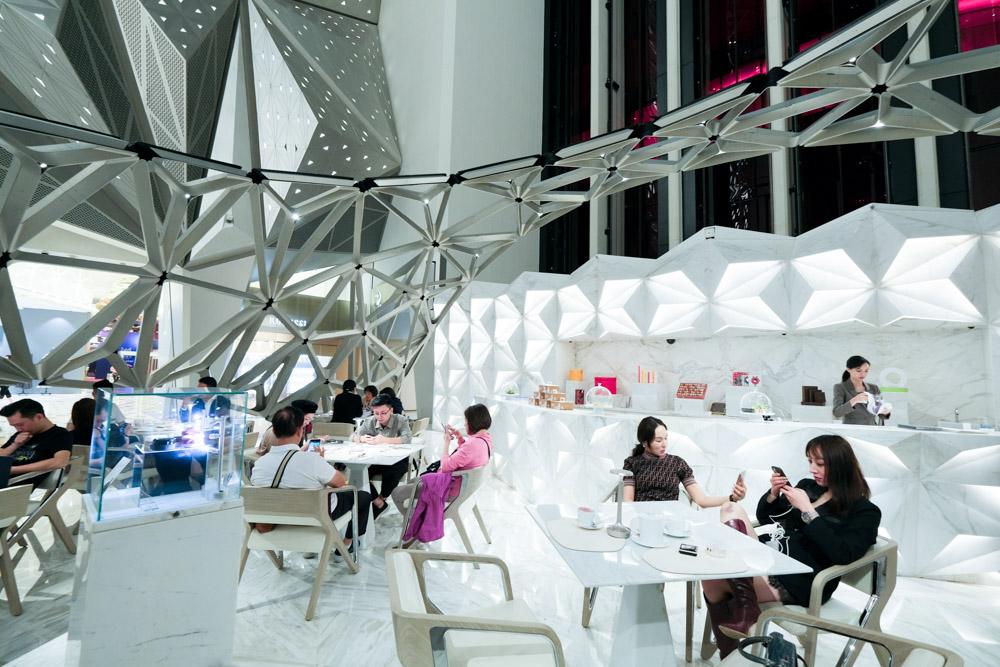 澳門路氹, 摩珀斯, Morpheus 酒店, 艾爾曼尚廊, Pierre Hermé Lounge, 巴黎甜點, 法式甜點