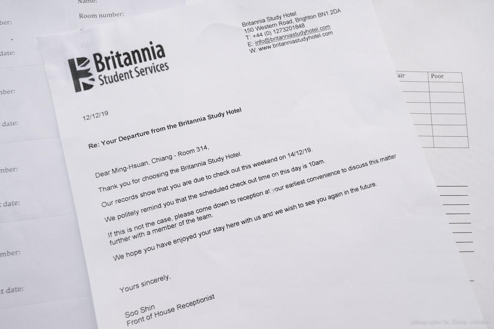 Britannia Study Hotel, 英國布萊頓遊學, 布萊頓遊學宿舍, 遊學學生宿舍, 布萊頓市區, 學生宿舍環境與交通
