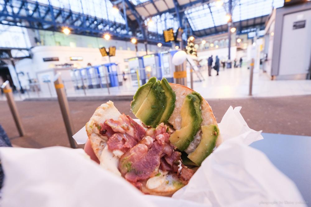 Bagelman, 布萊頓美食, Brighton 車站早餐, 酪梨貝果, 酪梨料理